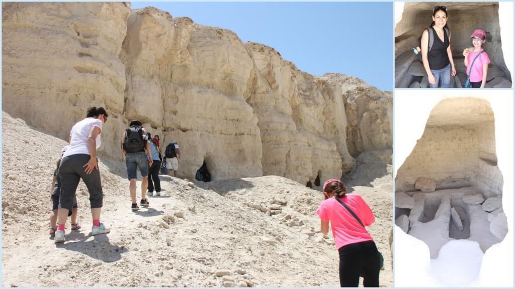 מערות הנזירים בכיכר סדום