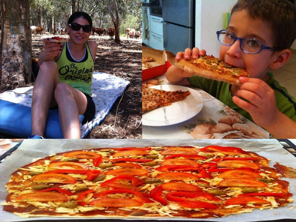פיצה- כי לא על הלחם לבדו יחיה האדם