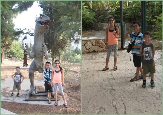 בעקבות הדינוזאורים בבית זית