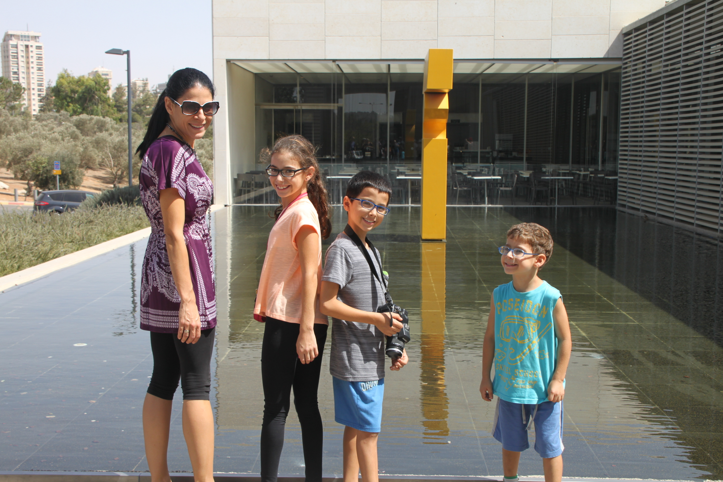 מוזיאון ישראל - בשביל הקלטורה