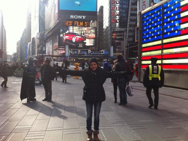 ביקור בניו יורק בלי צילום בטיים סקואר הוא לא ביקור